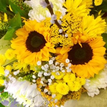 Sunny Sunflowers Bouquet Cut Flower Bouquet