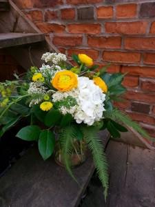 Sunny Surprise Contemporary Vase