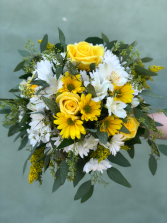 Sunny Yellow Boho Bridal Bouquet Bridal Bouquet