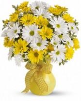 Sunny yellow Fresh Arrangement