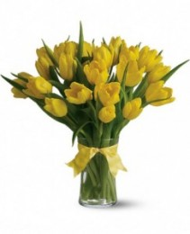 Sunny Yellow Tulips Enchanted Florist