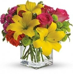 Sunplash Arrangement Fresh Flower Arrangement