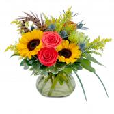 Sunrise Harvest Beauty Arrangement