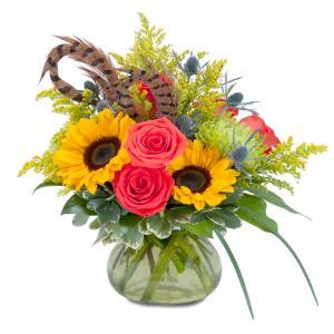 Sunrise Harvest Bounty Arrangement in Fort Smith, AR | EXPRESSIONS FLOWERS, LLC