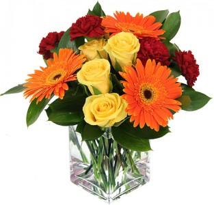 SUNRISE RAYS Vase Arrangement