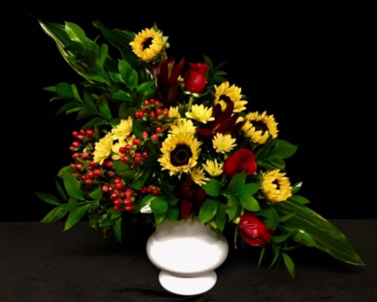 Sunrise Sunflowers with Mix Floral