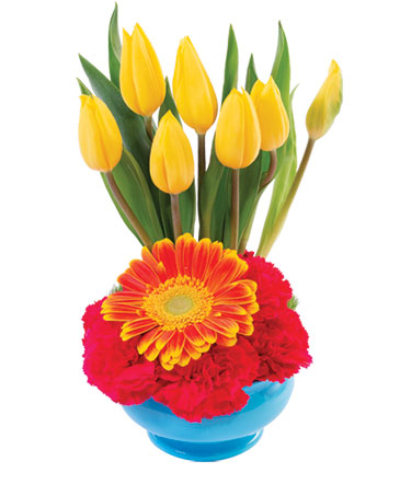 Sunrise Tulips Floral Design