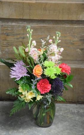Sunrise Vase Arrangement