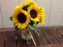 Suns, Suns, Suns Vase Arrangement