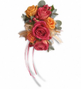 Sunset Beauty  Corsage