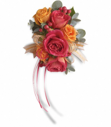 Sunset Beauty Wristlet Wedding and Prom