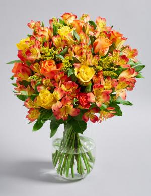 Sunset Birthday Surprise Arrangement in Lexington, NC | RAE'S NORTH POINT FLORIST INC.
