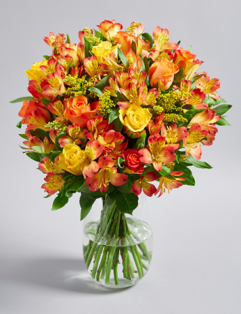 Sunset Birthday Surprise Arrangement