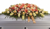 Sunset casket spray  Casket Spray