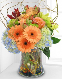 Sunset Delight Arrangement