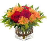 Sunset Floral Arrangement