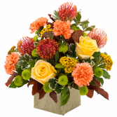 Sunset Glow Arrangement
