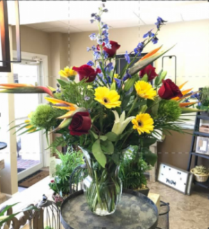 SUNSET KEY VASE in Venice, FL | ALWAYS AN OCCASION FLORIST & DECOR