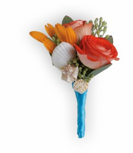 Sunset Magic Boutonniere HPR021A