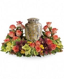 Sunset Memories Urn Wreath
