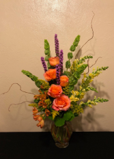Sunset Palette Vase Arrangement