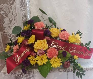 sunset tribute family arrangement