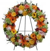 Sunset wreath  Wreath