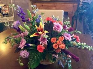 Sunshine And Rainbow Arrangement in Greeley, CO | ERICKSON'S FLOWERS