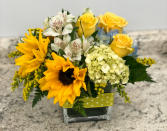 Sunshine and Roses Bouquet