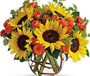 Sunshine and smile Bouquet  in Sunrise, FL | FLORIST24HRS.COM