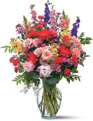 Sunshine and Smile Vase Arrangement