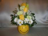SUNSHINE AND SMILES FLORAL ARRANGEMENT