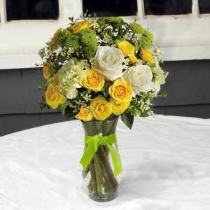 Sunshine and Smiles vase arrangement