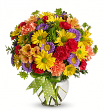 Sunshine Arrangement  Mixed Flower Bouquet