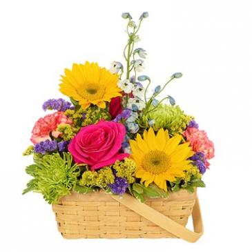 Sunshine Basket Arrangement