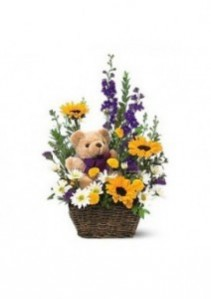 Sunshine Bear Basket