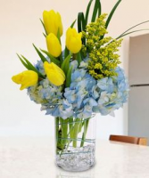 Sunshine & Blue Skies Vase Arrangement