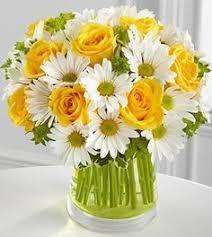 Sunshine Bouquet Vase Arrangement