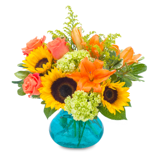 Sunshine Day Arrangement in Vinton, VA | CREATIVE OCCASIONS EVENTS, FLOWERS & GIFTS