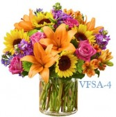 Sunshine Delight Floral Arrangement