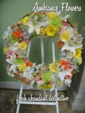 Sunshine Garden Wreath