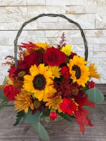 Sunshine Harvest Basket