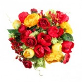 Sunshine in Red and Yellow Friendship Bouquet