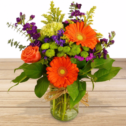 Sunshine Joy Vase Arrangement