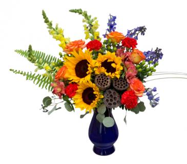 Sunshine Meadow Vase Arrangement