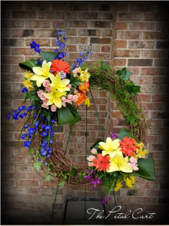 SUNSHINE OF LIFE WREATH STAND