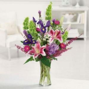 Sunshine on a Cloudy Day Vase Arrangement in Longview, TX | ANN'S PETALS