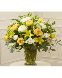 sunshine on my shoulder vase arrangement