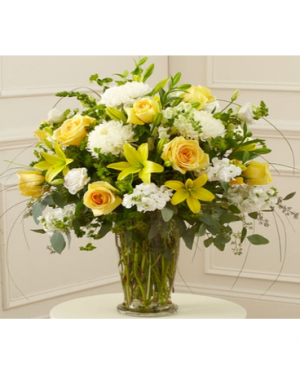 Sunshine on My Shoulder vase arrangement in Lebanon, NH | LEBANON GARDEN OF EDEN FLORAL SHOP