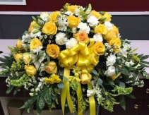SUNSHINE REMEMBRANCE Casket Spray